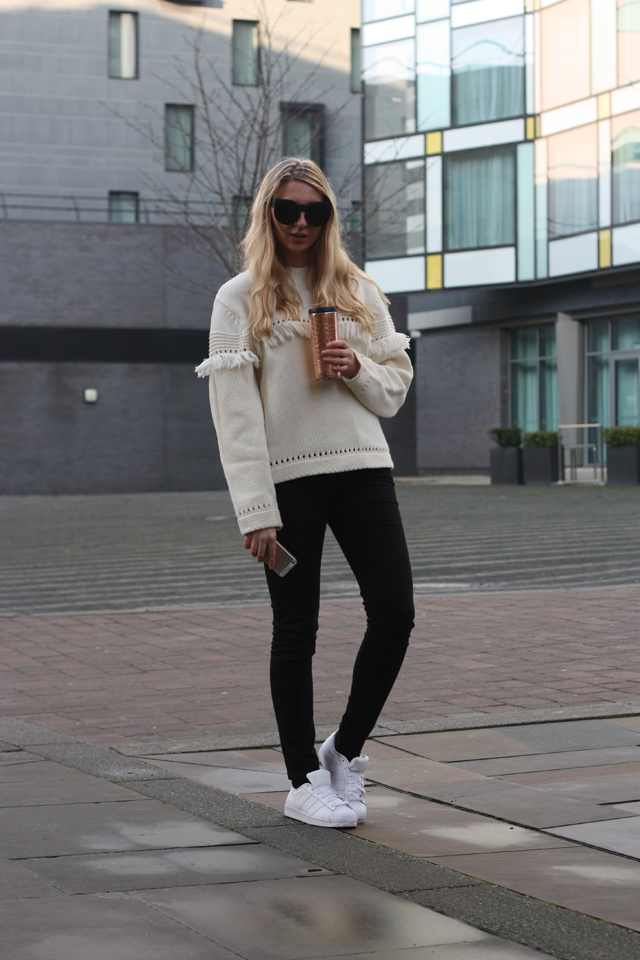 how to style adidas superstars fashion blog
