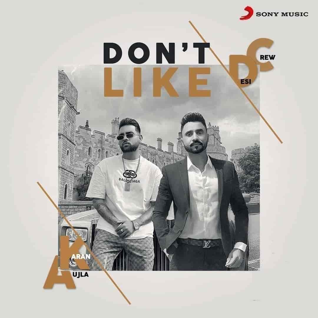 Don't Like Punjabi Song Image Features Karan Aujla And Goldy Desi Crew