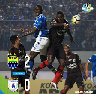 Persib Menang 2-0 atas Persipura - Highlights #PersibDay