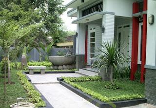 Contoh Gambar Desain Taman Rumah Minimalis 04