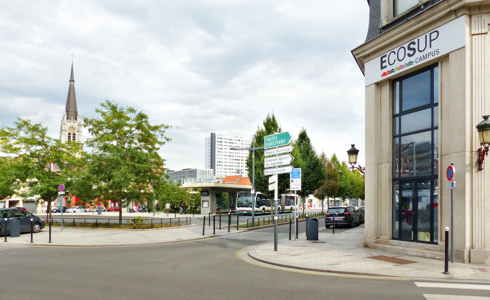 Place Roussel Tourcoing - ECOSUP Campus