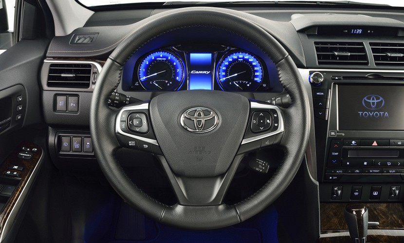 All New Camry 2018 Interior Grand Avanza Veloz 2017 Toyota Gives 2015 A Facelift For Russia | Carscoops