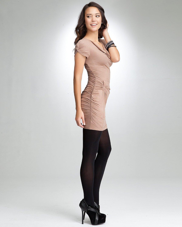Cowl Neckline: Dress4Cutelady: Microsuede Cowl Neck Dress
