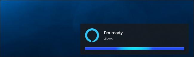 """اليكسا يقول """"أنا جاهز"""" على ويندوز 10"""