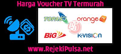 RejekiPulsa.Net Agen Voucher TV Prabayar Termurah