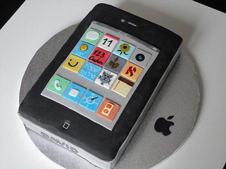 Gâteau iPhone