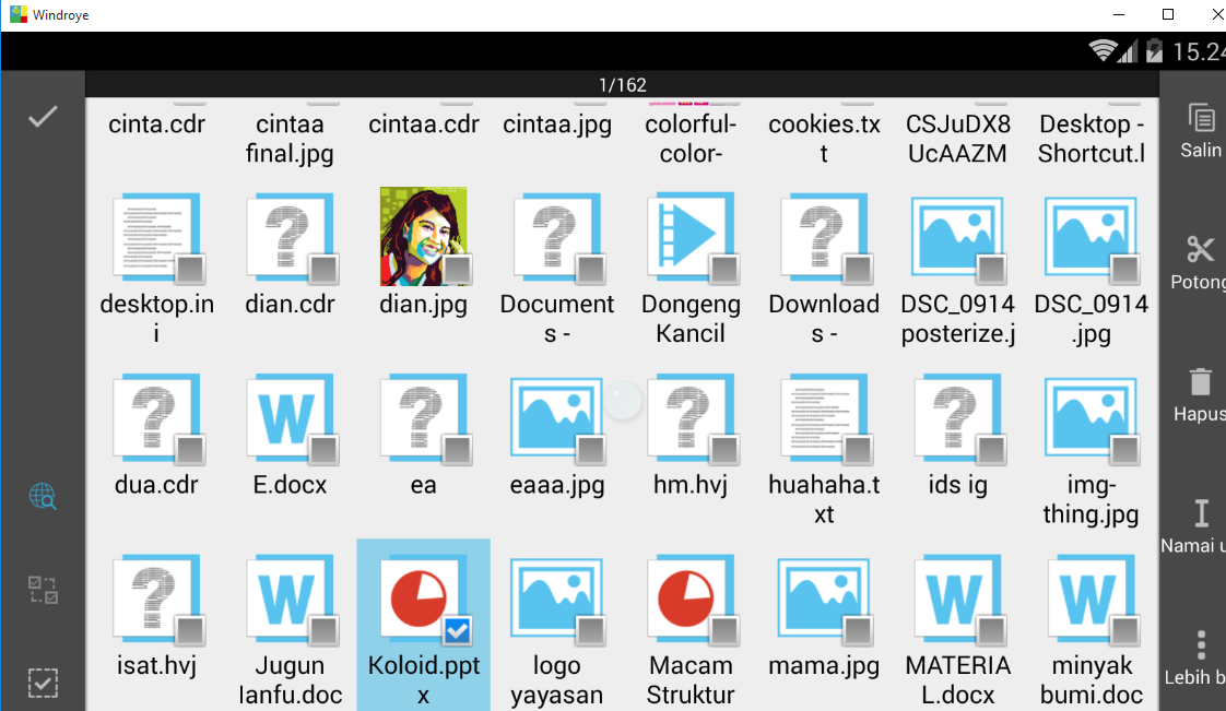 Cara Copy File Dari Pc Ke Windroye Simulator Android