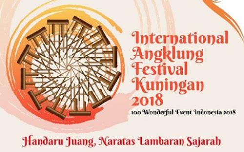 International Angklung Festival Kuningan 2018