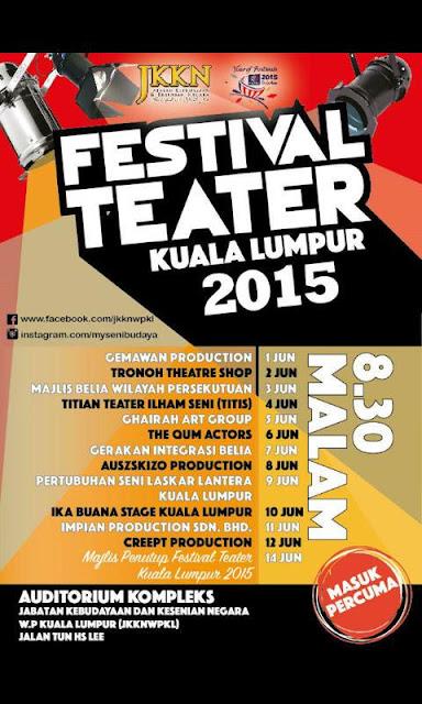 Festival Teater Kuala Lumpur 2015