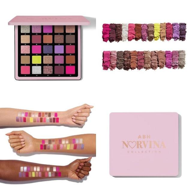 ABH Norvina Paleta Pro Pigment Volume 4
