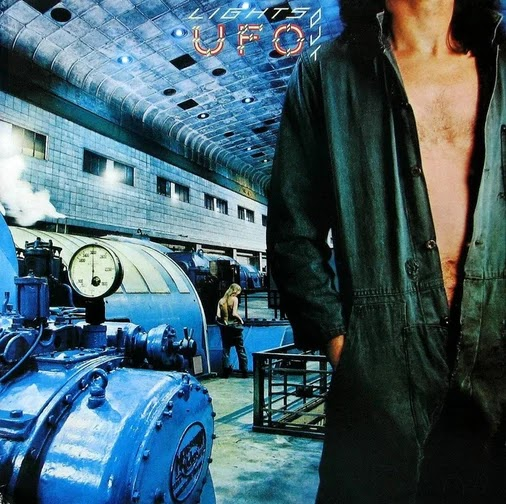 UFO - Lights Out (1977, Hard Rock)