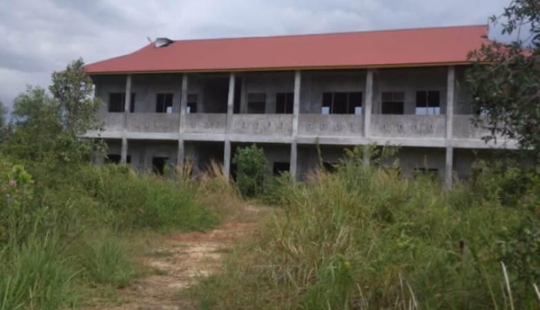 Warga Resah, Gedung Bangunan Sekolah 2 Tahun Tak Siap, Jadi Sarang Hantu
