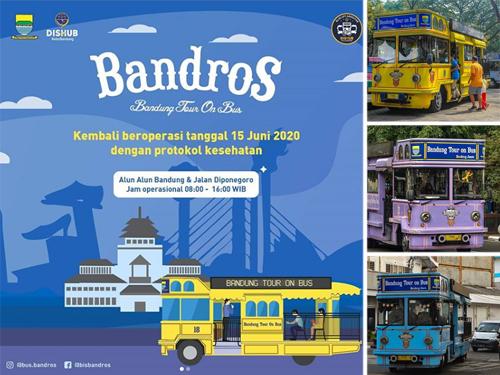 Bus Bandros Kembali Beroperasi 15 Juni 2020, Ini Aturan dan Tarifnya
