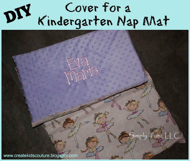 Create Kids Couture Nap Mat Cover