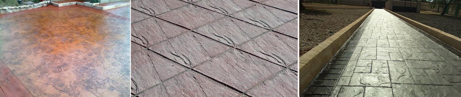 Pavimentos de hormig n impreso en madrid sf23 arquitectos - Hormigon impreso en madrid ...