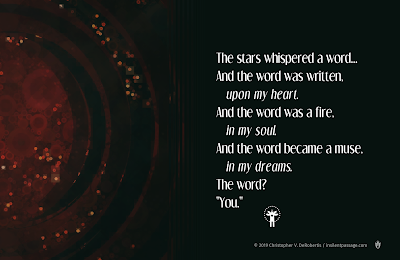 The Stars Whispered Copyright 2019 Christopher V. DeRobertis. All rights reserved. insilentpassage.com