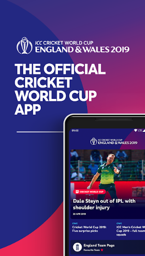 ICC Cricket World Cup 2019 official free live streaming App