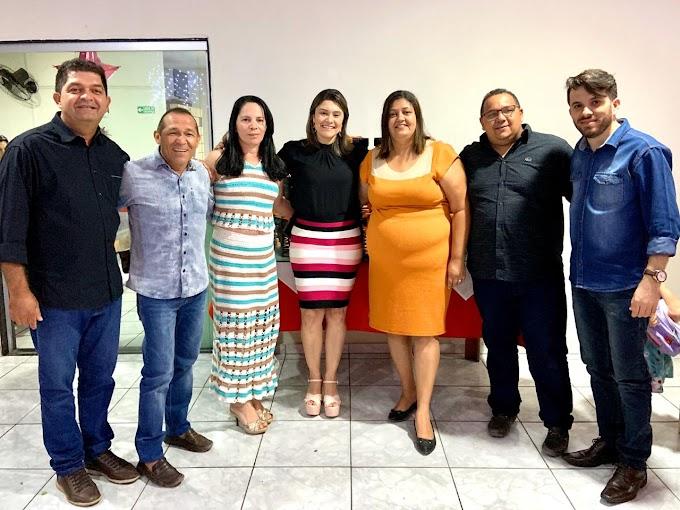 Vice Prefeita Aninha e alguns vereadores da situação participaram da confraternização da prefeitura de João Câmara