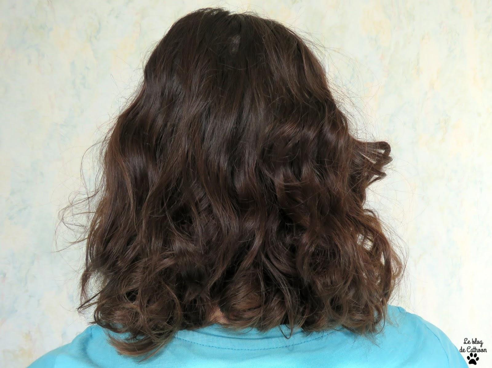 Papillotes pour des cheveux bouclés sans chaleur avec Action