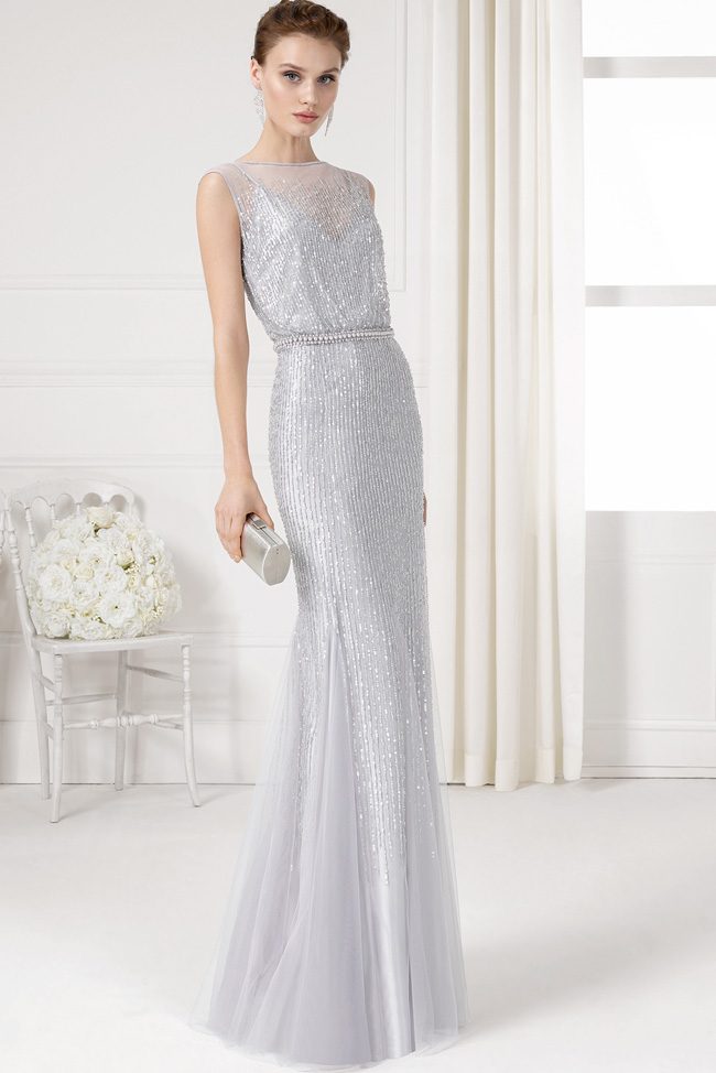 http://www.aislestyle.co.uk/illusion-bateau-neck-silver-sequin-beaded-sheath-tulle-bridesmaid-dress-p-5770.html