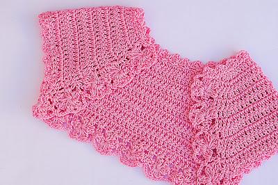 1 -Crochet Imagen Lindo bolero a crochet y ganchillo muy fácil y sencillo por Majovel Crochet.