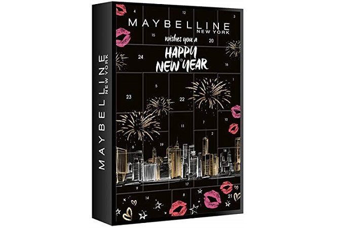calendario de adviento maybelline NY