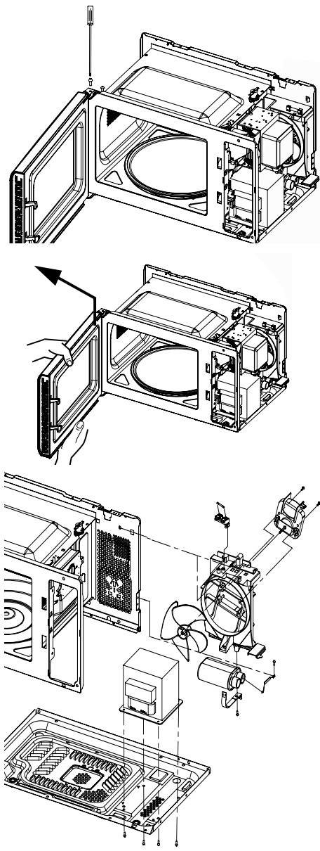 Electro help: Panasonic Microwave oven NN-ST652WRUN, NN