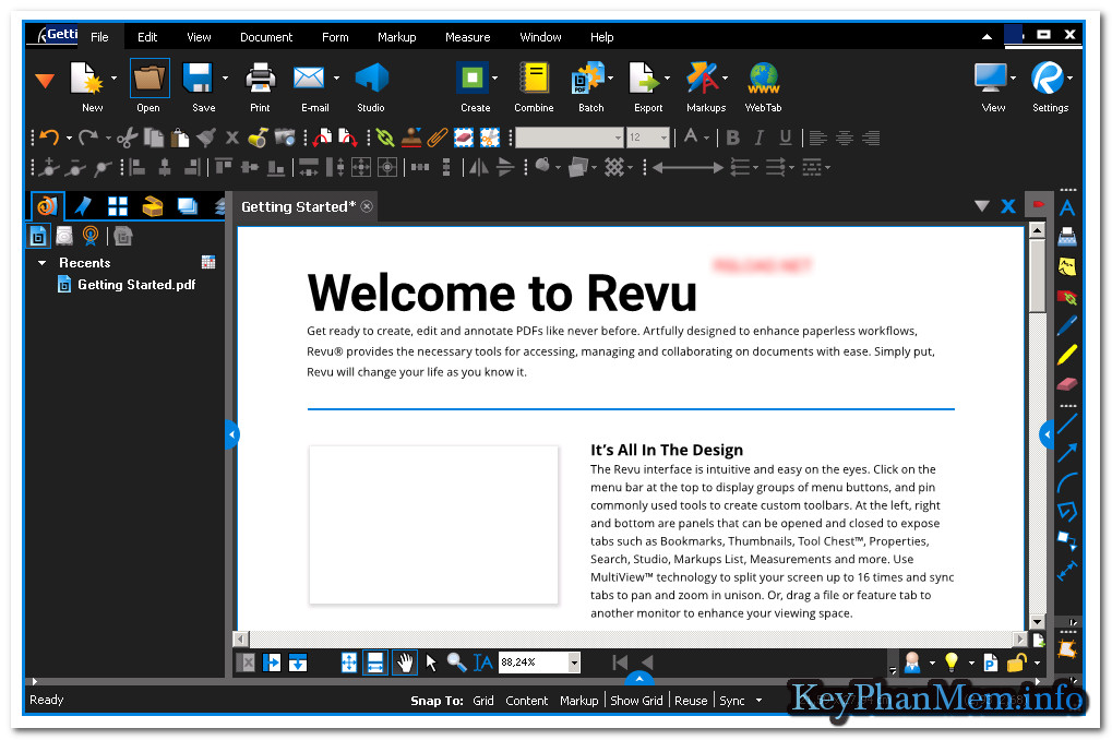 Bluebeam Revu eXtreme 2018 Version 18.0.3 Full Key, Siêu ứng dụng về xử lý PDF