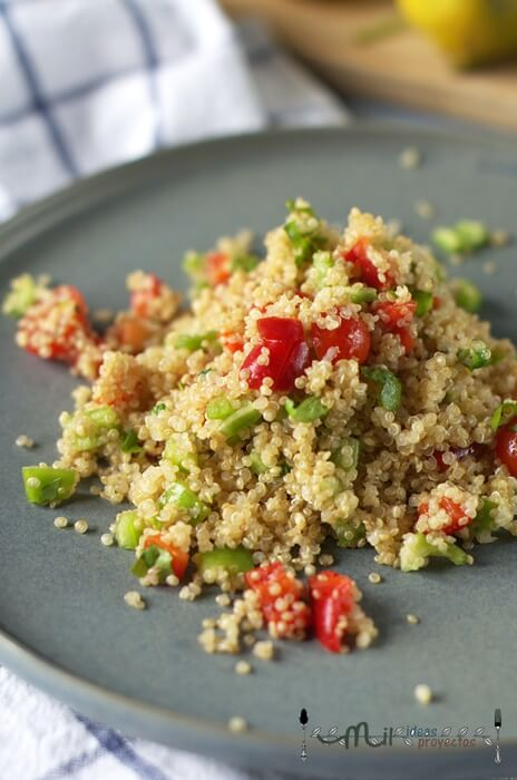 como preparar ensalada de quinoa fácil