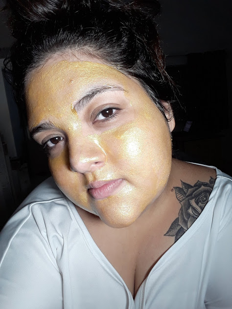 máscara facial pele linda