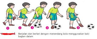 Menendang Bola