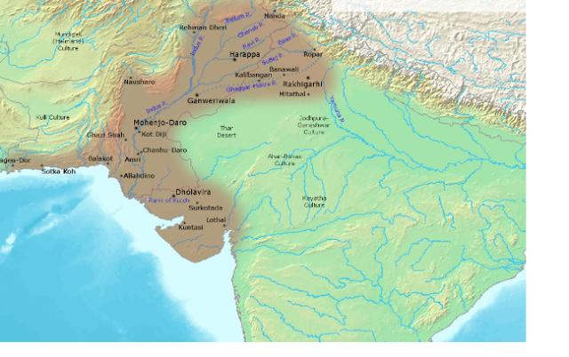 Indus valley civilization [harappa and mohejodaro] short summary  in nutshell