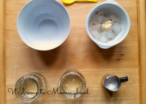 Toddler Activities: Saint Patrick's Day inspired science {Welcome to Mommyhood} #toddleractivities, #toddlerscience, #scienceactivities