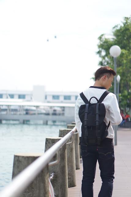 Singapore lifestyle influencer - Evilbean X Gaston Luga