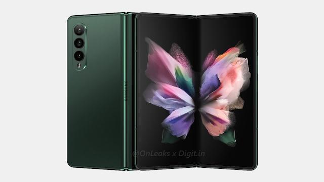 يظهر هاتف Galaxy Z Fold3 على TENAA مع المواصفات الرئيسية