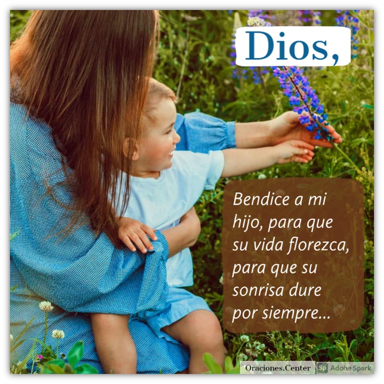 Oración de una Madre para su Hijo