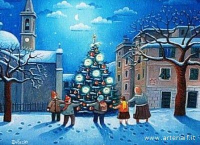 Le muse di Kika Lalbero di Natale modapittura