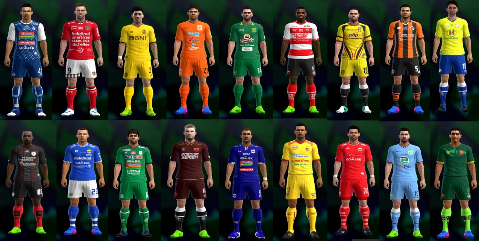 There Are Gojek Liga 1 Kits Here! Preview2