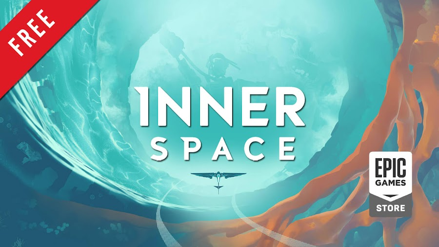 inner space free pc game epic games store open world exploration adventure game poly knight games aspyr media