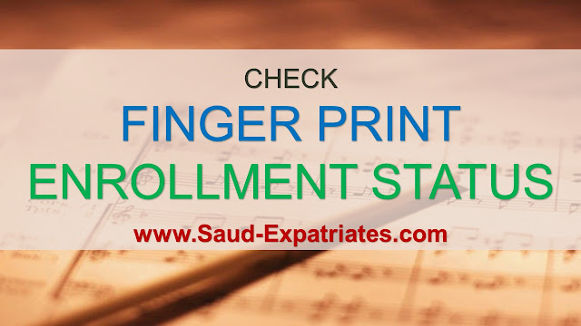 FINGERPRINT ENROLLMENT STATUS
