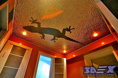 3d ceiling for bathroom, 3d ceiling mural for bathroom false ceiling