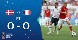 Denmark vs Prancis 0-0
