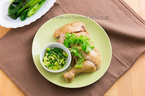 Poached Chicken Leg in Spicy Sauce02