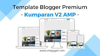 Kumparan V2 AMP Template Blogger Premium