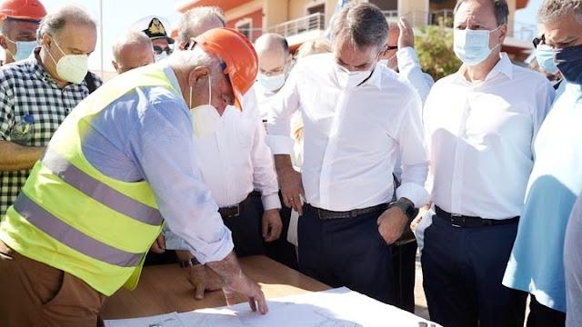 Σε εξέλιξη η περιοδεία του πρωθυπουργού στη Μεσσηνία