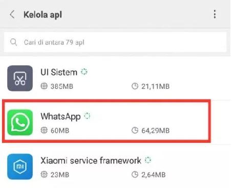 Cara Menghilangkan Notifikasi WhatsApp Yang Masuk