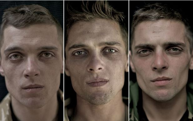 Soldiers' faces before, during and after serving in Afghanistan (13 Pics)