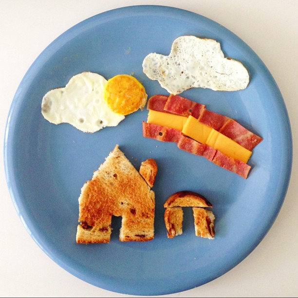 7 Easy Food Art Ideas to Try While Staying Home
