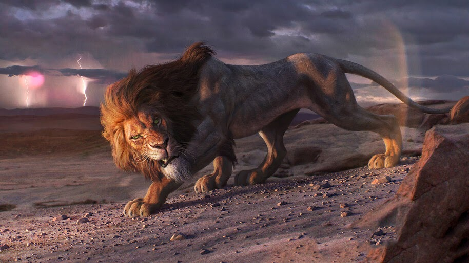 Scar The Lion King Movie 2019 4k Wallpaper 3657