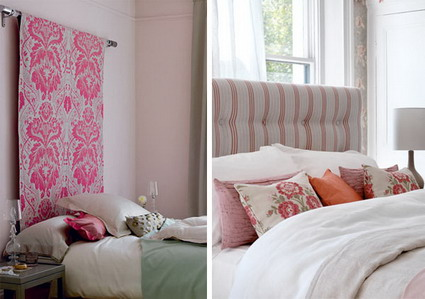 Decoraconmar a diez ideas para cabeceros - Cabecero cama tela ...